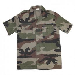Košile francouzská polní krátký rukáv CCE TARN použitá