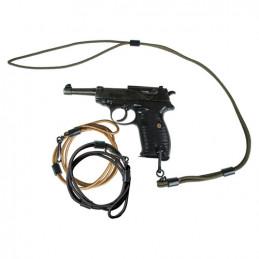 Šnůra bezpečností MIL-TEC ke zbrani ČERNÁ