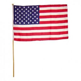 Vlajka na tyčce 30x45cm USA