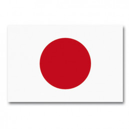 Vlajka státní JAPONSKO