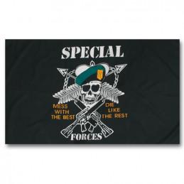 Vlajka motiv US SPEC.FORCES