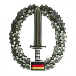 Odznak BW na baret KSK - Kommando-Spezial-Kräfte