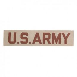 """Nášivka \""""US ARMY\"""" textil DESERT"""