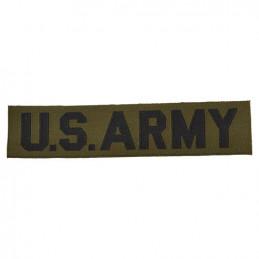 """Nášivka \""""US ARMY\"""" textil ZELENÁ"""