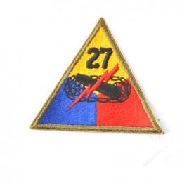 """Nášivka US \""""27 ARMY DIV.\"""""""