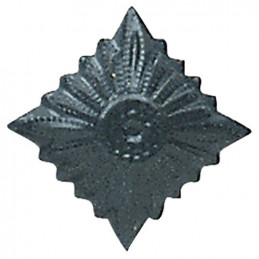 Odznak hodnostní NVA hvězda MATT - ŠEDÁ