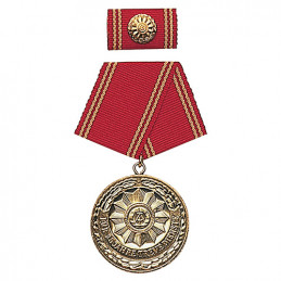 Medaile vyznamenání MDI \'F.TREUE DIENSTE\' 25let ZLATÁ
