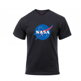 Triko se znakem NASA ČERNÉ