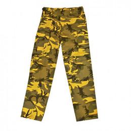 Kalhoty US BDU YELLOW CAMO MMB