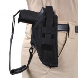 Kabel bezpečností (telefonní) ke zbrani ČERNÝ