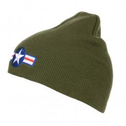 Čepice pletená BEANIE WWII AIR FORCE ZELENÁ