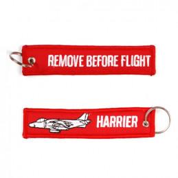 Klíčenka REMOVE BEFORE FLIGHT / HARRIER