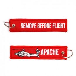 Klíčenka REMOVE BEFORE FLIGHT / APACHE