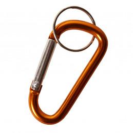 Karabina s kroužkem na klíče ZLATÁ