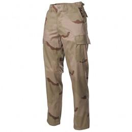 Kalhoty US střih BDU 3-COL DESERT