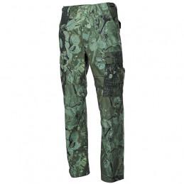 Kalhoty US střih BDU rip-stop HUNTER GREEN