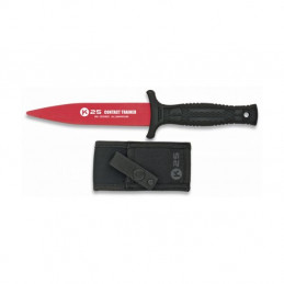 Nůž cvičný K25 hliníkový ČERVENÝ
