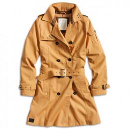 Doprodej Kabát TRENCHCOAT dámský HNĚDÝ