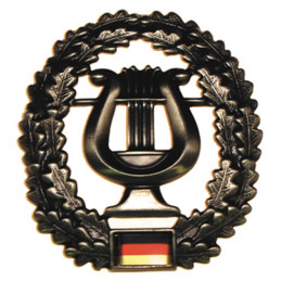 Odznak BW na baret Musikkorps kovový