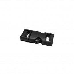 Spona/přezka plastová kompletní 10 mm ČERNÁ