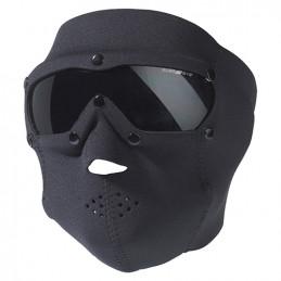 Maska s brýlemi SWAT PRO neopren ČERNÁ