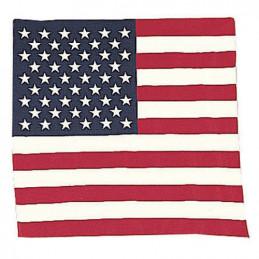 Šátek 55 x 55 cm U.S. vlajka