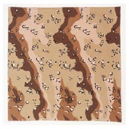 Šátek 68 x 68 cm JUMBO 6-COL DESERT